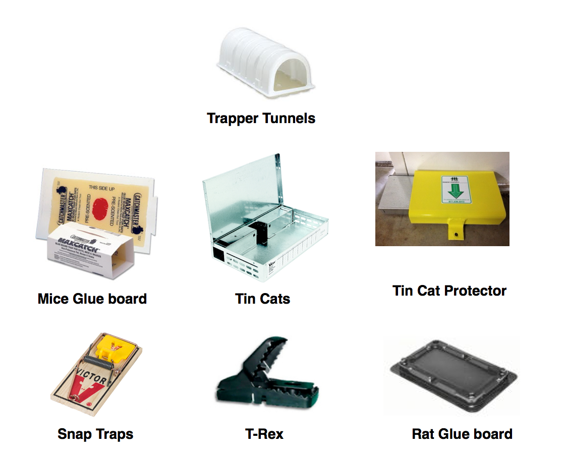Rodent Control Devices